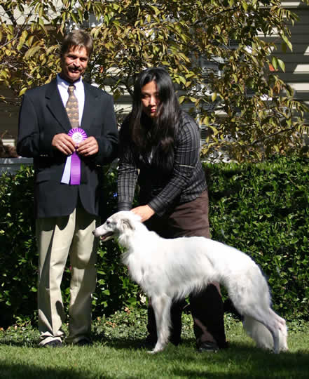 Gideon me and Dennis Reserve Winners Dog